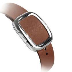 Ремешок кожаный для Apple Watch 38/ 40мм Modern Buckle (Коричневый)