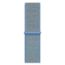 Ремешок для Apple Watch 42/ 44мм W17 Magic Tape Band (Tahoe Blue)