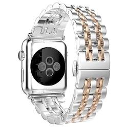 Ремешок из нержавеющей стали для Apple Watch 42/ 44мм Metal (Золотистый)