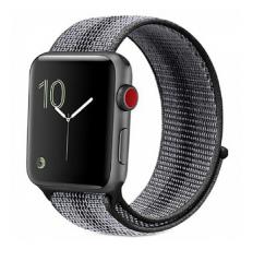 Ремешок для Apple Watch 38/ 40мм W17 Magic Tape Band (Black Stripe)