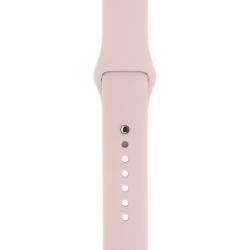 Ремешок спортивный для Apple Watch 42/ 44мм Sport Band (Pink Sand)