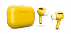 Беспроводная гарнитура Apple AirPods Pro Color (Желтый глянцевый)