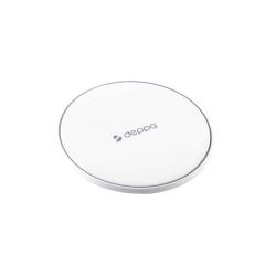 Беспроводное зарядное устройство Deppa D-24001 Qi Fast Charger 10Вт (5V-1A) Белый