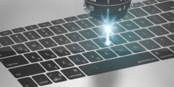 Лазерная гравировка клавиатуры