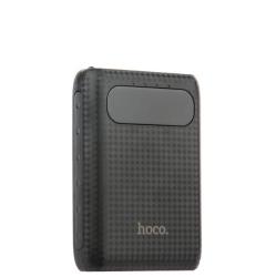 Внешний аккумулятор универсальный Hoco B20-10000 mAh Mige Power Bank (2USB: 5V-2.1A) Черный