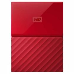 Внешний жесткий диск WD My Passport 1Tb (WDBBEX0010BRD-EEUE) Красный