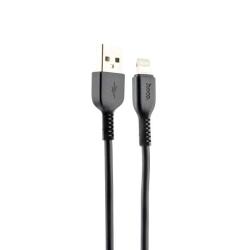 USB дата-кабель Hoco X20 Flash Lightning 1.0м (Черный)