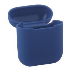 Чехол силиконовый для AirPods 1/ 2 Deppa D-47004 (Синий)