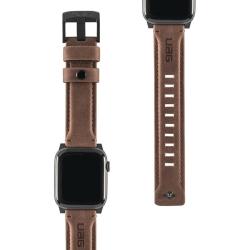 Ремешок кожаный для Apple Watch 42/ 44мм UAG (Коричневый)