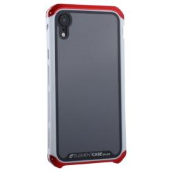 Чехол-накладка для Apple iPhone XR (6.1) Element Case G-Solace (Красно-белый ободок)