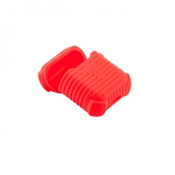 Чехол силиконовый для AirPods 1/ 2 COTEetCI CS8106 (Красный)