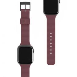 Ремешок силиконовый для Apple Watch 42/ 44мм UAG [U] DOT STRAP (Баклажан)