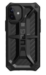 Противоударный чехол для iPhone 12 mini UAG Monarch карбон (Углеродное волокно)
