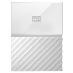 Внешний жесткий диск WD My Passport 1Tb (WDBBEX0010BWT-EEUE) Белый