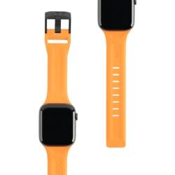 Ремешок силиконовый для Apple Watch 42/ 44мм UAG Scout (Оранжевый)