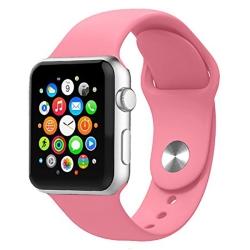 Ремешок спортивный для Apple Watch 42/ 44мм Sport Band (Hot Pink)