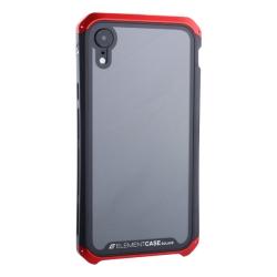 Чехол-накладка для Apple iPhone XR (6.1) Element Case G-Solace (Красно-черный ободок)
