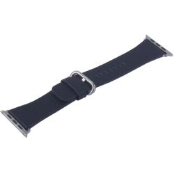 Ремешок кожаный для Apple Watch 42/ 44мм COTEetCI W22 (Черный)