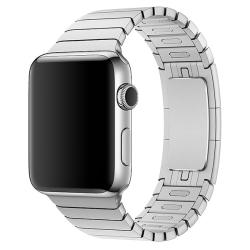 Ремешок из нержавеющей стали для Apple Watch 42/ 44мм Link Bracelet (Серебристый)
