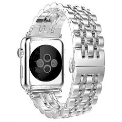 Ремешок из нержавеющей стали для Apple Watch 42/ 44мм Metal (Серебристый)