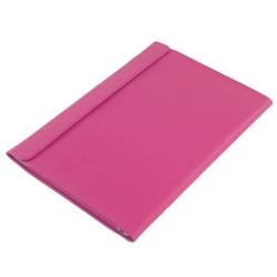 Чехол конверт для Macbook Pro 13 Retina и Macbook Air 13 Alexander (Кроко фуксия)