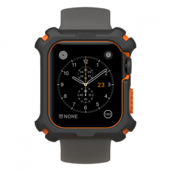 Чехол для Apple Watch Series 4/ 5 44mm UAG Watch Case (Чёрно-оранжевый)