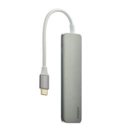 Переходник USB Type-C - HDMI Deppa D-73118 Power Delivery (Графитовый)