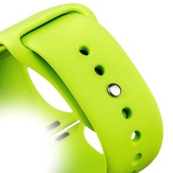 Ремешок спортивный для Apple Watch 38/ 40мм COTEetCI W3 Sport Band (Зеленый)
