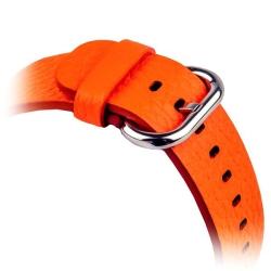 Ремешок кожаный для Apple Watch 38/ 40мм COTEetCI W1 Band for Premier (Оранжевый)