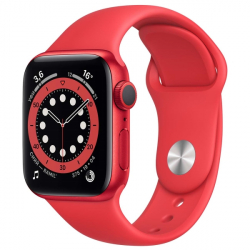 Часы Apple Watch Series 6 40mm PRODUCT(RED) Aluminum Case with PRODUCT(RED) Sport Band