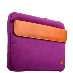Сумка XOOMZ 320x240x30mm Fabric Portable Laptop Sleeve Case with Handle для ноутбука до 11 дюймов (Фиолетовый)