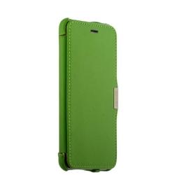 Чехол-книжка для iPhone 6s Plus/ 6 Plus i-Carer Luxury series (Зеленый)