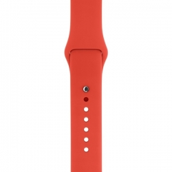 Ремешок спортивный для Apple Watch 42/ 44мм Sport Band (Orange)