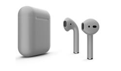 Беспроводная гарнитура Apple AirPods 2 Color без беспроводной зарядки чехла (Серый матовый)