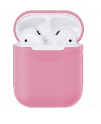 Чехол силиконовый для AirPods (Sand Pink)