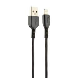USB дата-кабель Hoco X20 Flash Lightning 3.0м (Черный)