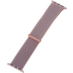 Ремешок для Apple Watch 38/ 40мм COTEetCI W17 Magic Tape Band (Розовый)