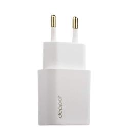 Сетевое зарядное устройство Deppa Ultra 1.0A (USB: 5V/1.0A) Белый