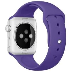 Ремешок спортивный для Apple Watch 38/ 40мм Sport Band (Ultra Violet)