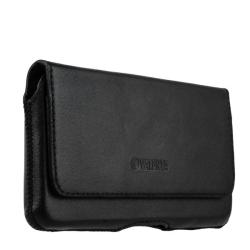 Чехол-кобура кожаный Valenta двойное крепление (155x85x9mm 5.5) Черный