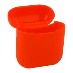 Чехол силиконовый для AirPods 1/ 2 Deppa D-47003 (Красный)