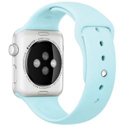 Ремешок спортивный для Apple Watch 42/ 44мм Sport Band (Turquoise)
