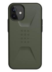 Противоударный чехол для iPhone 12 mini UAG Civilian (Оливковый)
