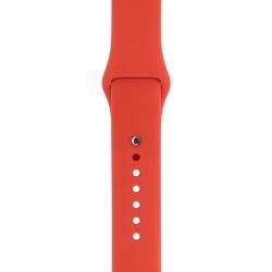Ремешок спортивный для Apple Watch 38/ 40мм Sport Band (Orange)