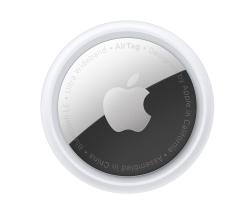 Трекер Apple AirTag белый/серебристый 1 шт.