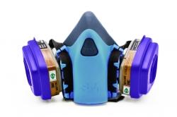 Цветной Респиратор для защиты органов дыхания (Голубой)