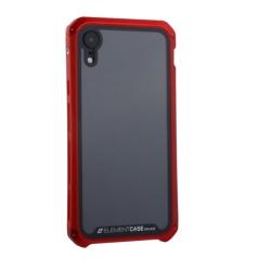 Чехол-накладка для Apple iPhone XR (6.1) Element Case G-Solace (Красный ободок)