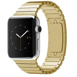 Ремешок из нержавеющей стали для Apple Watch 38/ 40мм Link Bracelet (Золотистый)