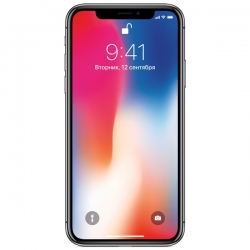 Телефон Apple iPhone X 64Gb Space Grey (A1901)
