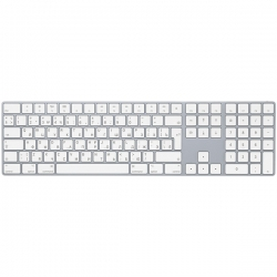 Клавиатура беспроводная Apple Magic Keyboard with Numeric Keypad (MQ052RS/A)